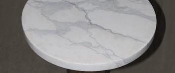 faux marbre table top(detail) - cambridge, ma