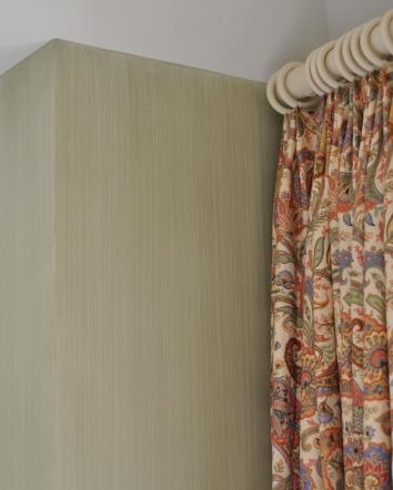 bedroom wall glaze - chatham, ma