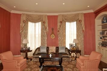 living room wall glaze - boston, ma