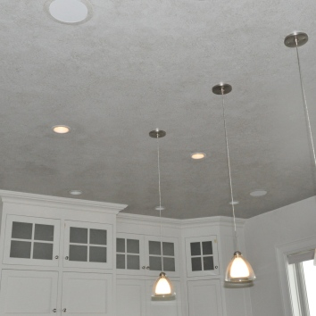 ragged glaze finish ceiling - private residence - yarmouth, ma
