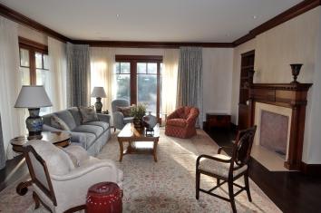 living room wall glaze - chatham, ma