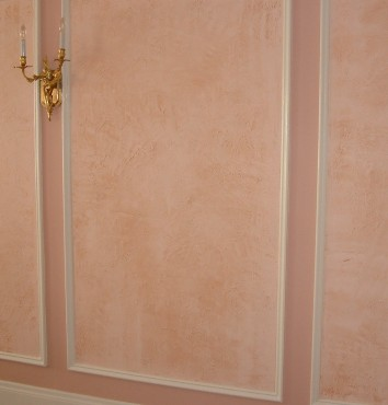 wall panels – painted and glazed stucco – jamaica plain, ma