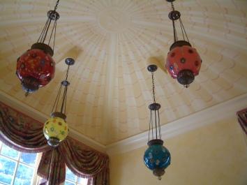 pavilion ceiling mural - brookline, ma