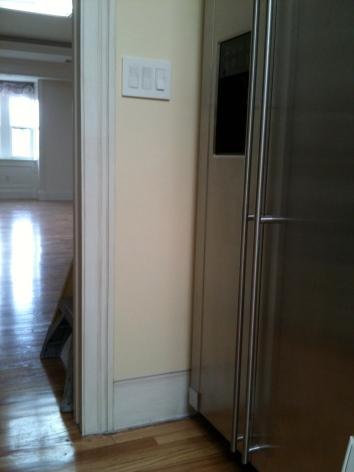 trompe l'oeil moulding - private residence - boston, ma