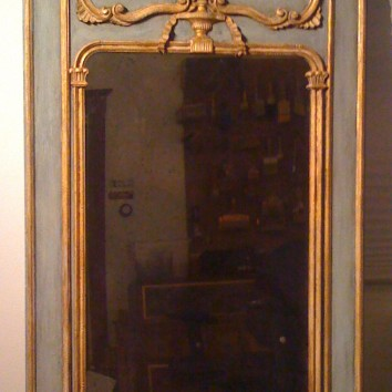 refinished antique mirror - private residence - boston, ma